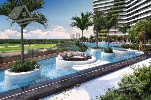 departamento en venta en cancun/puerto cancun/zona hotelera/woha