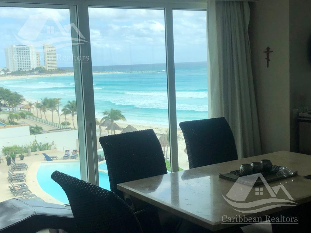 departamento en venta en cancun/zona hotelera/portofino