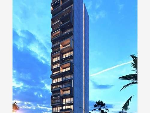 departamento en venta en cataubua|catania tower ubicado frente al malecon de mazatlan