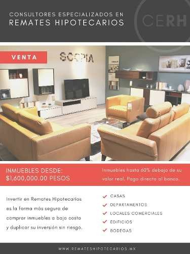 departamento en venta en city towers coyoacán $3,980,000.00