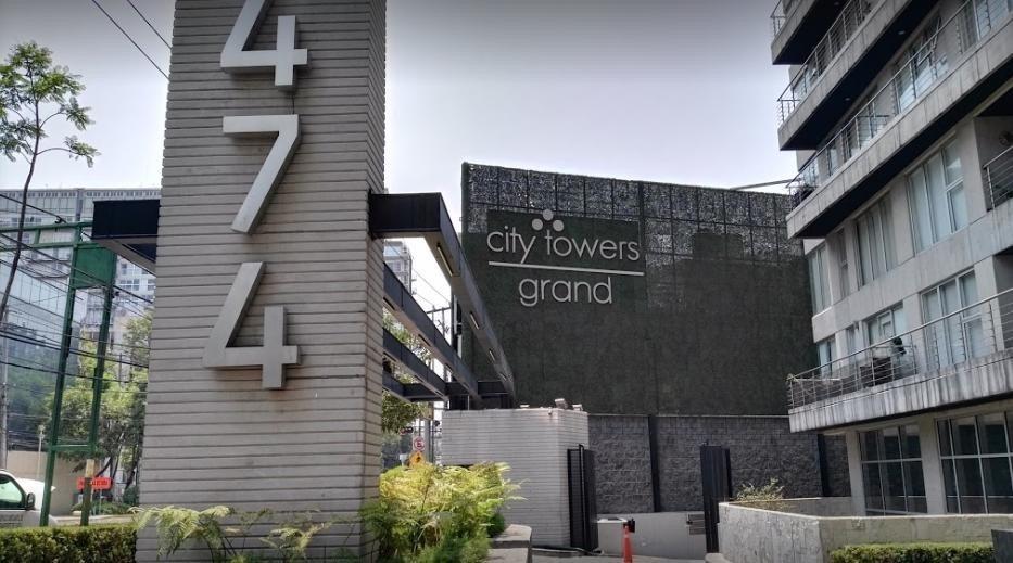 departamento en venta en city towers grand (av. popocateptl)