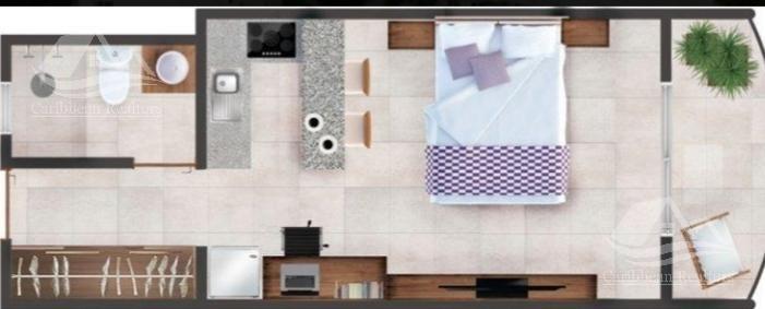 departamento en venta en cozumel/suites cozumel