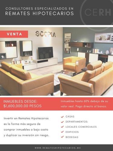 departamento en venta en cuauhtémoc $1,470,000.00 pesos.