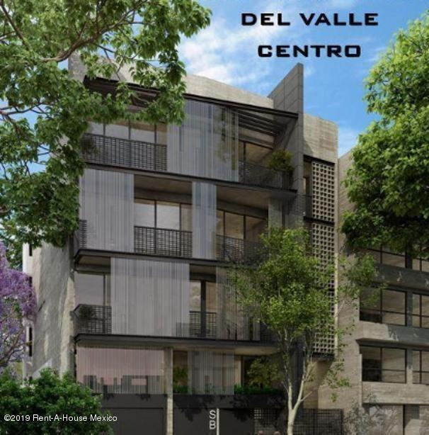 departamento en venta en del valle centro, benito juárez, rah-mx-20-1318