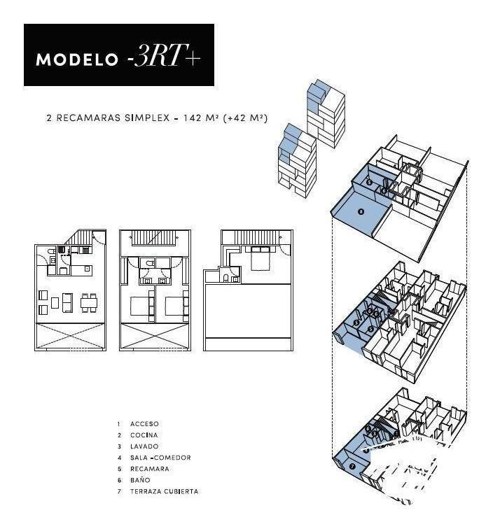 departamento en venta en la zona de galerias serdan sd-1803f