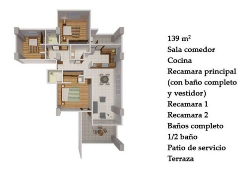 departamento en venta en la zona del campanario, querétaro . $3,790,000