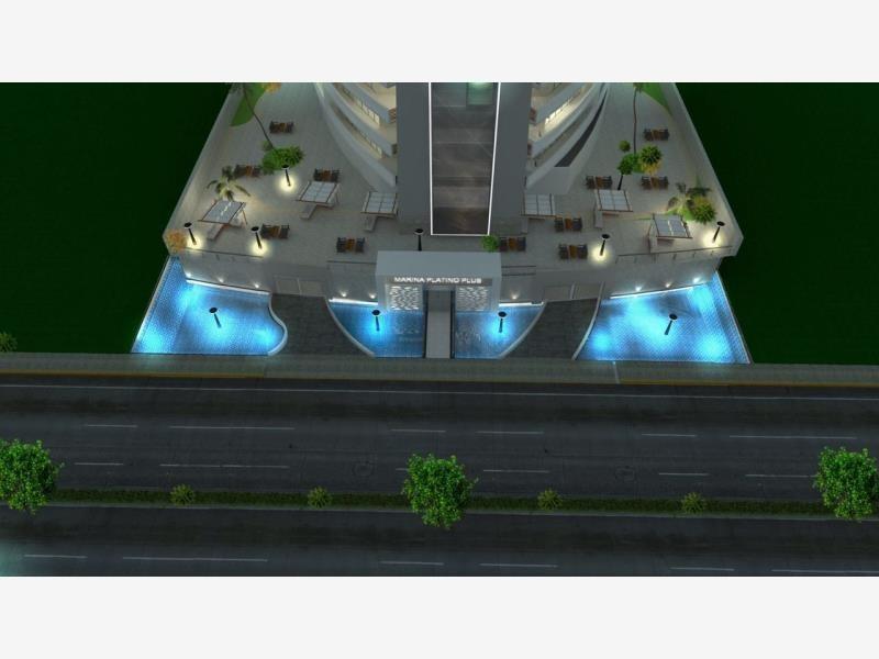 departamento en venta en marina platino plus lujosa torre con diseño vanguardista