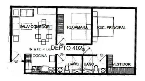 departamento en venta en mixcoac, benito juárez, distrito federal