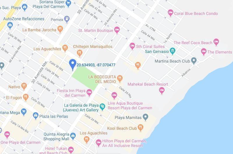departamento en venta en playa del carmen centro, solidaridad, quintana roo