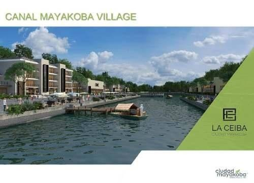departamento en venta en playa del carmen, la ceiba ciudad mayacoba. desde $3,409,654.00