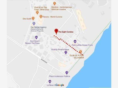 departamento en venta en playa del carmen playa de xcalacoco