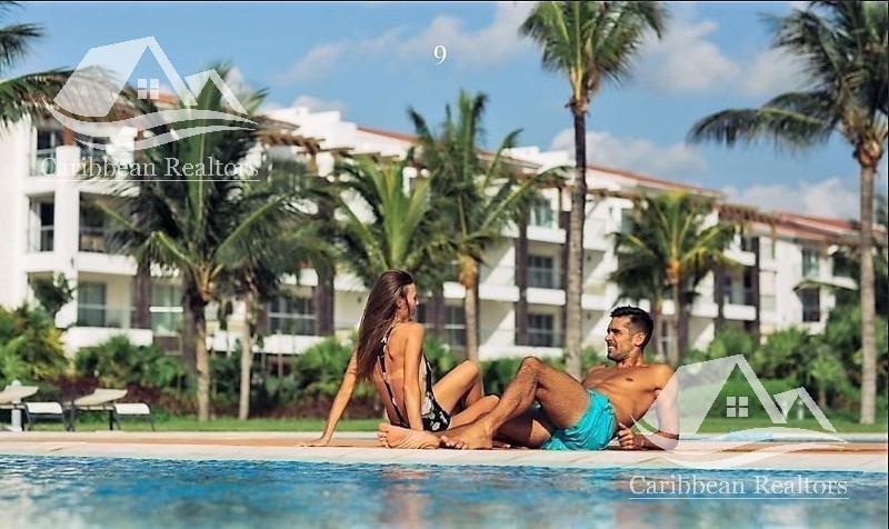departamento en venta en playa del carmen/riviera maya/grand coral