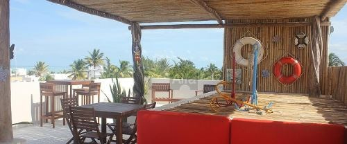 departamento en venta en playa, progreso yucatan, amenidades, ideal para inversión.