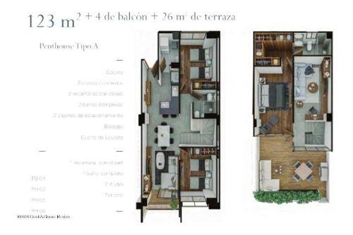 departamento en venta en portales, benito juárez, rah-mx-20-1360