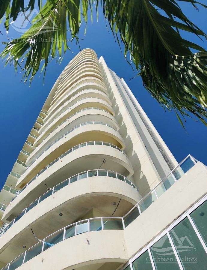 departamento en venta en puerto cancun/isola