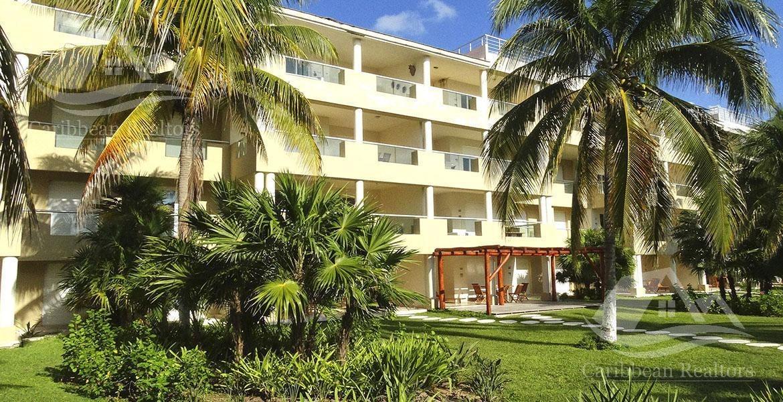 departamento en venta en puerto morelos/the beach residence