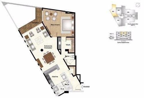 departamento en venta en residencial casa bosques, cuajimalpa cdmx