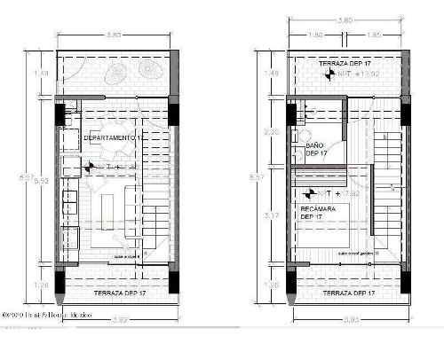 departamento en venta en tacubaya, miguel hidalgo, rah-mx-20-1573