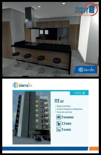 departamento en venta en torre sierralta (monterra residencial)