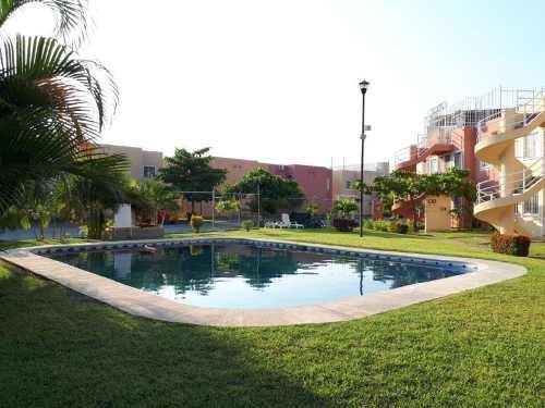 departamento en venta fraccionamiento en tulipanes con roof garden y alberca, acapulco