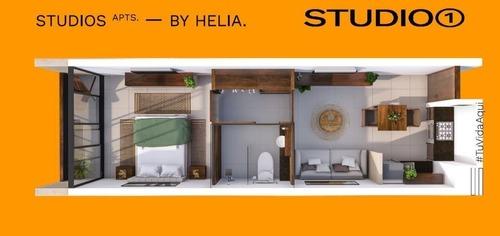 departamento en venta helia studios, santa gertrudis copó (mod. 1)