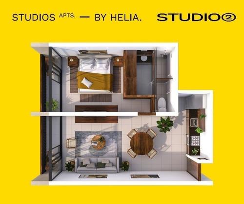 departamento en venta helia studios, santa gertrudis copó (mod. 2)