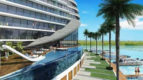 departamento en venta, shark tower cancun
