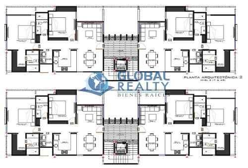 departamento en venta, sodzil norte de 3 niveles. dv-4836
