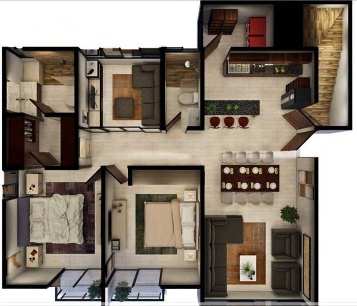 departamento en venta tipo penthouse mérida, yucatán, temozón privada