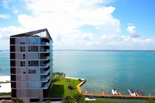 departamento en venta torre laguna, cancún, zona hotelera.
