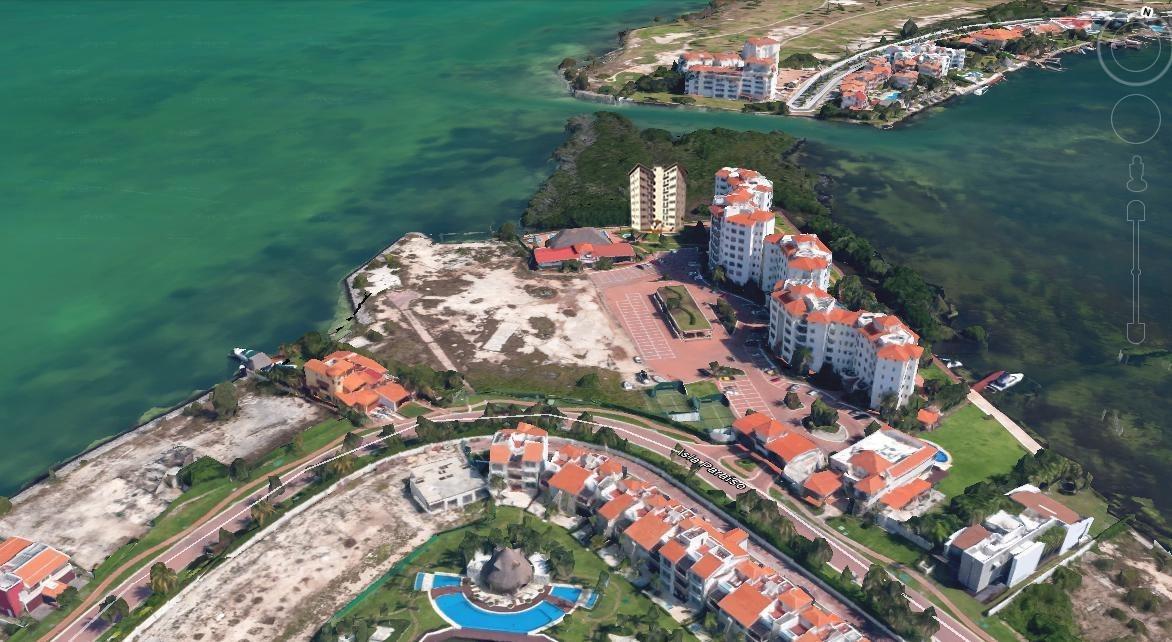 departamento en  venta torre laguna en isla dorada, cancún.