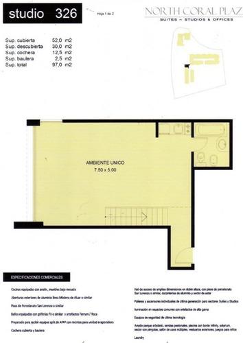 departamento  en venta ubicado en el portal, nordelta