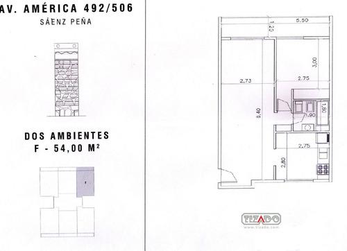 departamento  en venta ubicado en sáenz peña, zona oeste