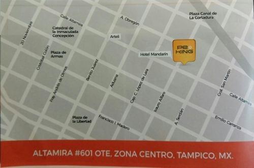 departamento en venta ubicado en zona centro de tampico, tamps.