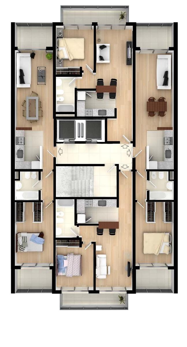 departamento en venta un dormitorio con cochera