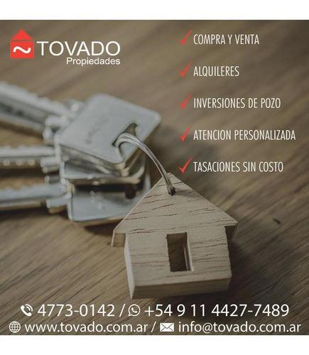 departamento en venta - villa crespo - torre - camargo  555 - 2 ambientes con cochera