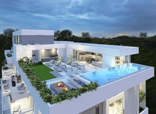 departamento en venta,white apartaments a min de city center,montebello,mérida,yucatán