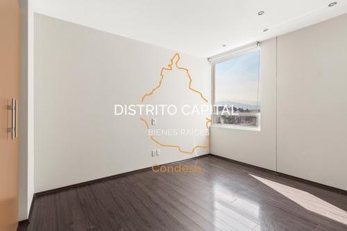 departamento en villa del lago en venta, col. jesús del monte, huixquilucan