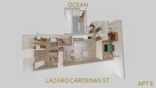 departamento en zona dorada, bucerias - the one bucerias 202