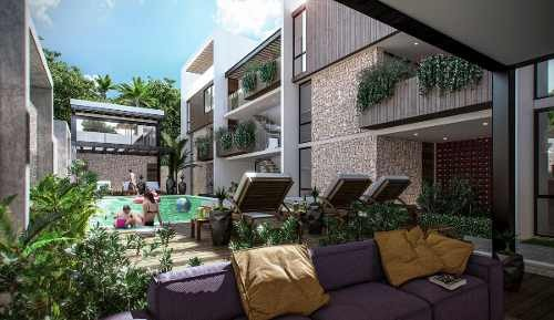 departamento exclusivo tulum ¨condo marea¨ lujo inversion
