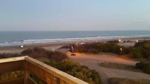 departamento frente a la playa en pinamar - 2 ambientes