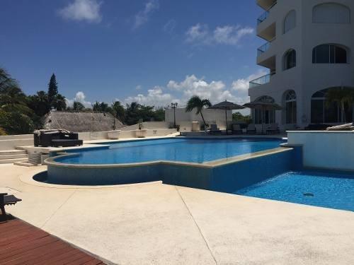 departamento frente a mar excelente vista en cancun 3rec