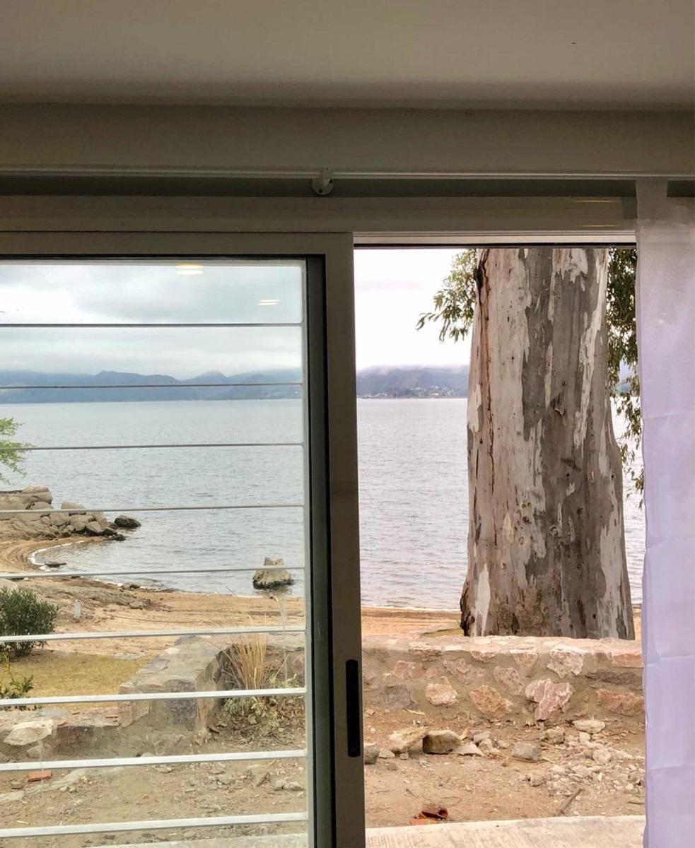 departamento frente al lago villa carlos paz