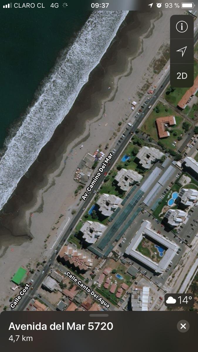 departamento frente al mar