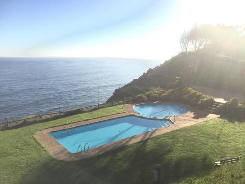 departamento frente al mar, costa quilén