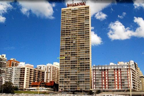 departamento frente al mar. edificio havanna. mar del plata