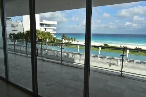departamento frente al mar en emerald zona hotelera