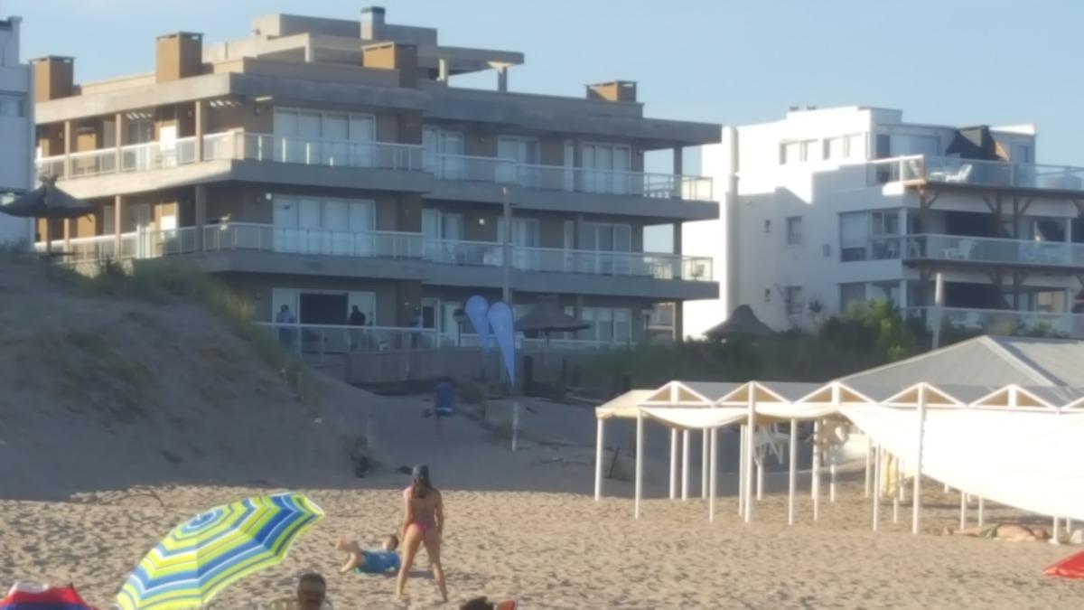departamento frente al mar en pinamar