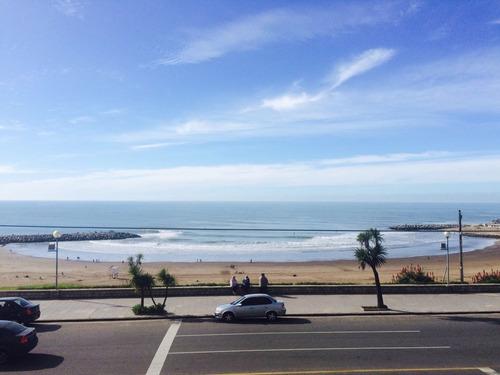 departamento frente al mar - playa varese