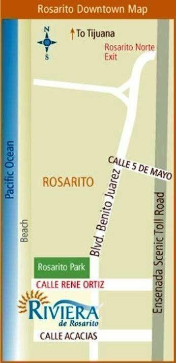departamento frente al mar, rivera rosarito, modelo ixtapa (a)
